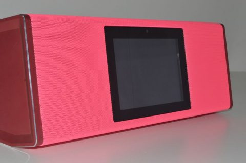 Pink Bluetooth Video Speaker