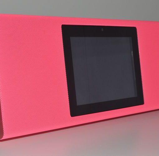 Pink Bluetooth Video Speaker