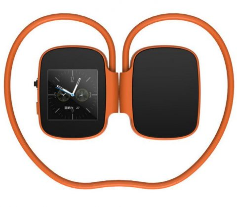 Digital Bluetooth Headphones Orange