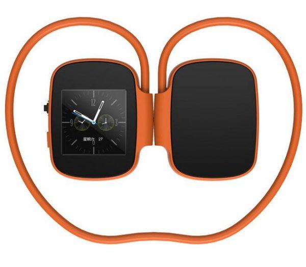 Digital Bluetooth Headphones Orange