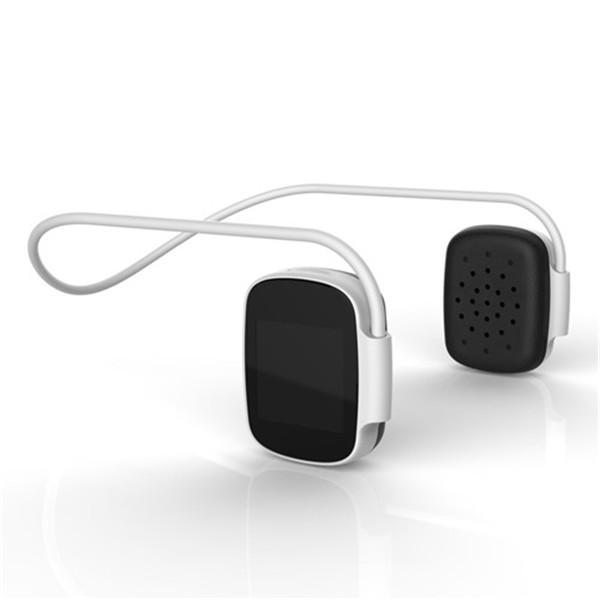 Digital Bluetooth Headphones Silver